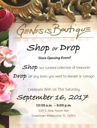 Invitation Card For New Shop Opening Genesis Boutique Genesisshop321 Twitter