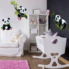 wandtattoo pandabären set wandtatoo wandsticker kinderzimmer bär