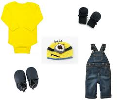 Baby Minion Costume 6 Last Minute Minion Costumes For A Seriously Adorable Halloween