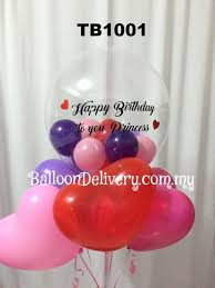 helium balloon delivery in selangor tb1001 transparent balloon bouquet balloondelivery my