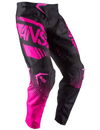 pink motocross boots answer racing syncron air motorcycle motocross gear apparel