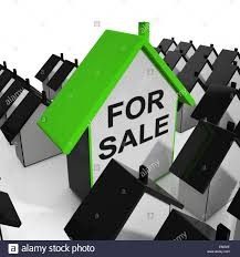 House Meaning by For Sale House Meaning Real Estate On Market Stock Photo Royalty
