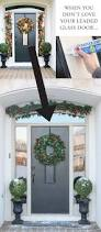 Christmas Decoration For Glass Door by Front Door Makeover With Balsam Hill Sincerely Sara D