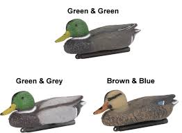 Rocking Bird Garden Ornament by Small Floating Plastic Decoy Mallard Duck Pond Garden Ornament