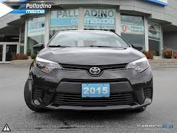 certified pre owned 2015 toyota corolla great car for travelling