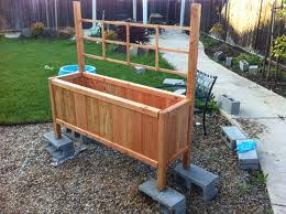 diy build your own vegetable planter box plans free