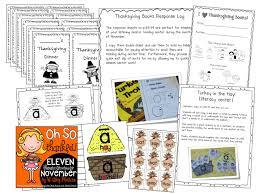 thanksgiving activities for kindergarten grade and second