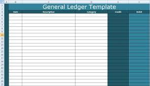 general ledger template self employment ledger template self