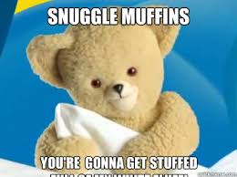 Bear Stuff Meme - snuggle muffins you re gonna get stuffed full of my white fluff