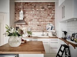 Briques Parement Interieur Blanc Accueil Design Et Mobilier Cuisine En Brique Et En 63 Photos Inspirantes à Voir