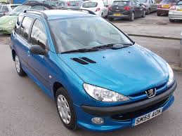 used peugeot 206 blue for sale motors co uk