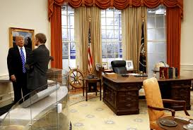 Trump In The Oval Office Donald Trump Won U0027t Work In The Oval Office White House