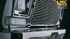 Classic Ford Truck Interior Parts - lmc truck ford grilles 1973 79 youtube