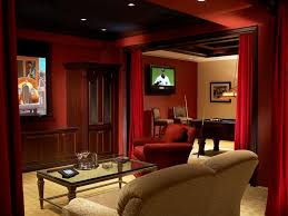 10 masculine and sports themed home theaters diy