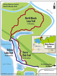 Map Writer Outdoors Places North Woods Trail Loop Is Close To Town