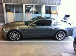 Mustang Black Chrome Wheels Sterling Gray Wheel Thread The Mustang Source Ford Mustang Forums