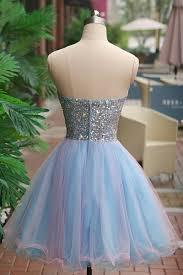 beaded beading prom dresses blue a line princess prom dresses