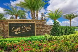 Orlando Fl Zip Code Map by Eagle Creek New Homes In Orlando