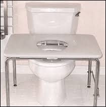 wheelchair toilet handicapped equipment