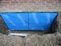 Interior Basement Wall Waterproofing Membrane Stop Leaking Basement From Outside Without Tearing Your Basement Apart