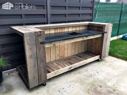 outdoor kitchen furniture diy outdoor kitchen pallet outdoor kitchen bar 1001 pallets varuna