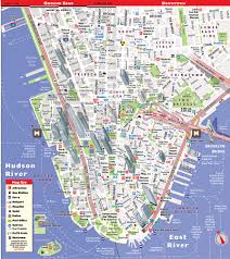 Brooklyn Zip Code Map Streetsmart Nyc Map By Vandam City Street Map Of Manhattan Ny