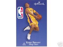 bryant with card hoop 9 in series 2003 hallmark