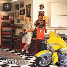 a dream motorcycle workshop family handyman