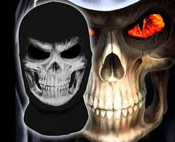 the grim reaper mask skull ghost death balaclava airsoft costume