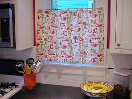 retro kitchen curtains design home design ideas picture gallery