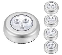 battery powered cl light 5 pack ipow led battery powered wireless night light stick tap touch