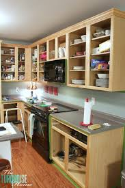 How To Sand Kitchen Cabinets How To Paint Kitchen Cabinets Without Fancy Equipment