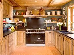 cuisine style montagne deco cuisine style montagne idaces de daccoration capreolus nappe la