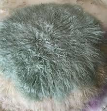 newborn photo props circle wool fur blanket newborn props infant basket filler