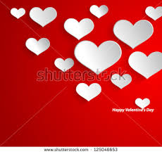 valentines day background free vector stock