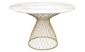 dakota marble table gold jayson home