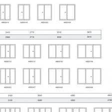 Bifold Closet Door Sizes Stunning Bifold Door Opening Chart Ideas Ideas House