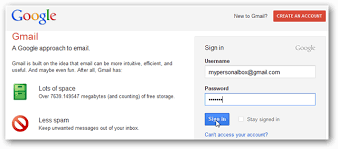 Gmail Login Mail Gmail Combine A Personal Email Account With Apps