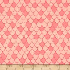 camelot under the sea scales pink chai discount designer fabric