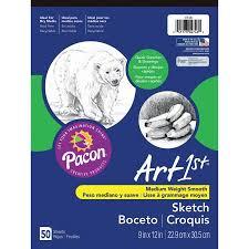 pacon art1st sketch pad 9