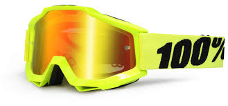 fox motocross goggles sale 100 100 accuri fluo yellow mx goggle super mx