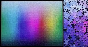 cymk puzzle colorful puzzle with no pictures will send you loopy