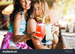 two trendy cool hipster girls friends stock foto 403484695