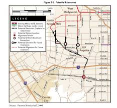 Metro Expo Line Map by As The Metro Weho Saga Ends Which Route Will The Crenshaw Line