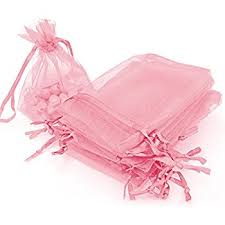 organza gift bags mudder 50 pieces 4 by 6 inch organza gift bags