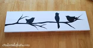 Diy Paintings For Home Decor Diy Reverse Stencil Wood Sign