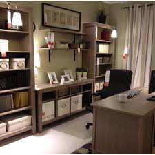 Bookcase Desks Position Of Desk And Bookcases With Shelves Above Desk For