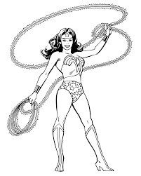 wonder woman coloring pages printable get coloring pages