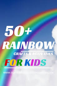 50 rainbow crafts and activities for kids our little house in