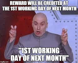 1st Of The Month Meme - dr evil laser memes imgflip